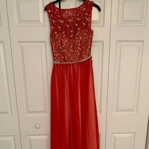 EXCELLENT Condition Red prom/pageant dress